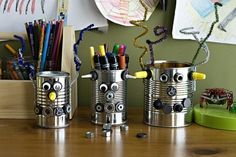lovely tin can robots!
