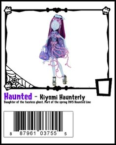 Haunted-Monster High Doll Checklist