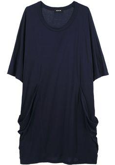 Zucca oversized jersey dress.