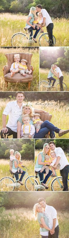 Fun Family Session! #family #photography, what to wear, props