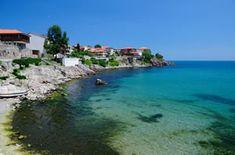 Arkoutino (plage), mer Noire, Bulgarie