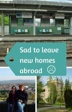 Sad about leaving new homes abroad - expat life