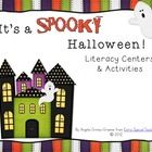 54 pages of spooky and spectacular Halloween literacy centers and activities.