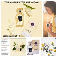 Younique  YOURS and ONLY YOURS, ME perfume!    Coming April 2018!