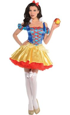 Disney Costumes You're the fairest one of all in a sexy Snow White Costume. This Snow White costume includes a Snow White dress and a red bow headband. Snow White Costume Adult, White Costumes, Princess Aurora Costume, Disney Princess Costumes, Toddler Costumes, Adult Costumes, Halloween Costumes, Carnival Costumes, Cosplay Costumes