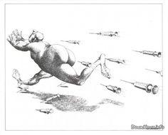 Карикатуры - Claude Serre (https://pinterest.com/pin/287386019945710322).