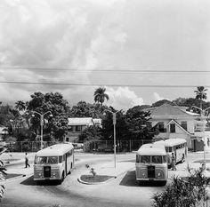 De Kleine Waterstraat in Paramaribo, ca. 1950