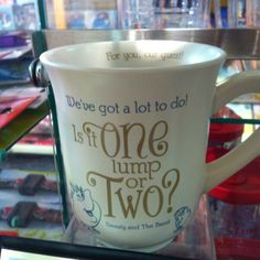 Beauty and the Beast, Disney, mug, quote