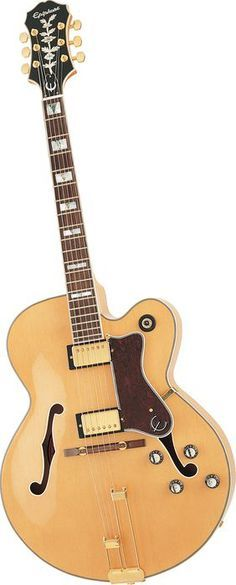 Epiphone Broadway Electric Guitar Natural
