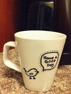 Another DIY coffee mug:)