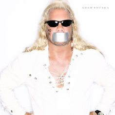 Duane Chapman | 56 Awesome NOH8 Celebrity Portraits