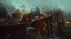 Imperial Legion, Pax Romana, Fantasy Dwarf, Roman Warriors, Roman Legion, Church Pictures, Roman Era, Sunset Background, Roman Soldiers