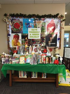 December Display Table in East Northport