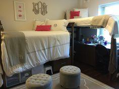 Kaitlyn's freshman dorm room at TCU. Colby Hall.