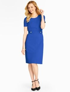 Talbots - Refined Ponte Dress | Dresses |