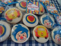 Elmo Party, Ideas Para Fiestas, First Birthdays, Birthday Cake, Churro, Food, Ideas, Dumbo Birthday Party, Guys Birthday Parties