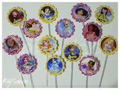 Topper - Festa Princesas