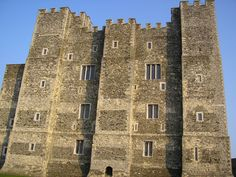 The Great Tower at Dover Castle in Kent, England, was built by Henry II in the 12th century.
