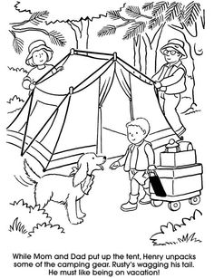 CAMPING! This one's so cute. A couple of free SUMMER