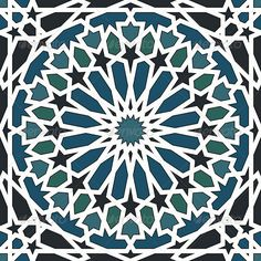 Buy Arabesque Seamless Pattern in Blue and Black by paulrommer on GraphicRiver. Arabesque seamless pattern in blue and black in editable vector file Islamic Art Pattern, Arabic Pattern, Pattern Art, Motifs Islamiques, Motif Arabesque, Islamic Tiles, Arabic Design, Turkish Art, Oriental Pattern