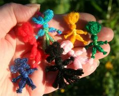 How to make Worry Dolls, Jujus, Moppets and Poppets