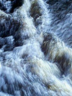 Canyon Falls ~ Baraga County, MI ~ by S. Durham