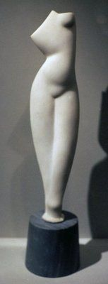 Alexander Archipenko :: Female torso, 1920