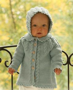 17 Trendy Ideas For Crochet Baby Girl Vest Drops Design Baby Knitting Patterns, Knitting For Kids, Baby Patterns, Free Knitting, Crochet Patterns, Knit Baby Sweaters, Knitted Baby Clothes, Baby Knits, Cardigan Bebe