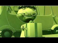 ▶ Luz verde - Cómo bajar de un coche - seguridad y educación vial para niños, dibujos - YouTube