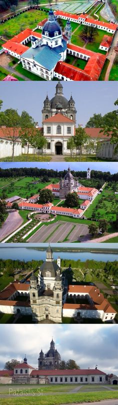 This is one of the most beautiful Baroque-style buildings in Lithuania. Currently, the monastery belongs to Camaldoli.