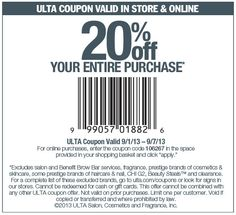 Dicks sporting goods coupons october 2013 online and printable pinned september 6th 20 off everything at ulta or online via promo code fandeluxe Images