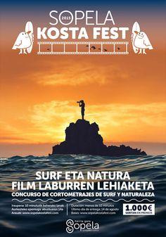 Música, naturaleza y #surf. En septiembre en Sopelana (País Vasco). http://es.topsportholidays.com/vista-global-espana/event/festival-de-surf-sopela-kosta-fest-2015/