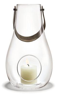 Holmegaard - DWL lanterne #inspirationdk #gavertilhende #giftsforher