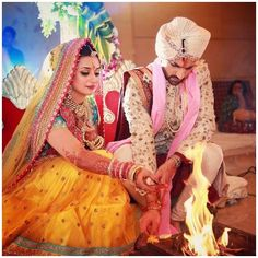 Divyanka Tripathi and Vivek Dahiya's Rang Dey Wedding