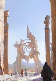 Fantasy Art Engine : Photo Possible Fantasy town teleported square. Fantasy Artwork, Fantasy Art, Fantasy Art Landscapes, Illustration Art, Fantasy City, Art, Environmental Art, Urban Fantasy, Scenery