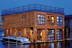 loft flottant par Designs Northwest Architects - Lake Union, Seattle, U.S.A