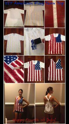 Diy 4th of July shirt.