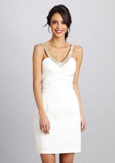 Maria Bianca Nero - Beaded neck Sleeveless Dress