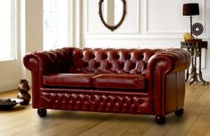 Claridge Luxury Leather Chesterfield Sofa is available in 4 seater, 3 seater, 2 seater and chair versions. Contact us on 0161 737 1600 for more info.