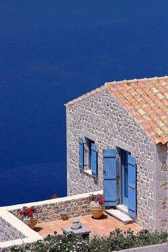 Croatia, old stone house renovated #hrvatska #croatia