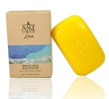 Salt Cellar Spa Dead Sea Sulphur Soap 4.4 oz (125 g)
