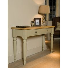 Buy Neptune Suffolk Console Table, Honed Slate Online at johnlewis.com