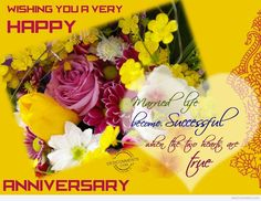 Picture: Wishing You Very Happy Wedding Anniversary