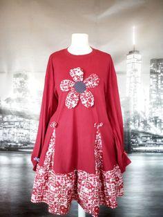 M to Plus size Tunic Dress Oversize Travel Boho Long Sleeve Unique Fashion, Boho Fashion, Plus Size Tunic Dress, Feminine Style, Plus Size Dresses, Pretty Dresses, Tunic Tops, Long Sleeve, Sleeves