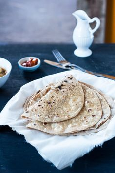 You can eat these chapati as is, with some butter (my favorite), or with chutney, daal, curry, etc. I will have to ask Reem to share her chutney and daal recipes with us one day. Enjoy! #indian #curry