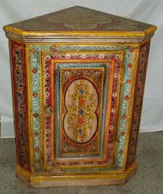 Hand Painted Furniture | Vinod Handicraft                                                                                                                                                                                 More