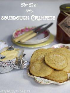 Top tips for Sourdough Crumpets    cityhippyfarmgirl