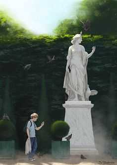 The Prophetic Statue by simbalm