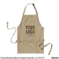 Custom Business Apron Company Logo Employee Staff