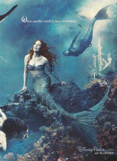 Disney ad starring Julianne Moore & Michael Phelps